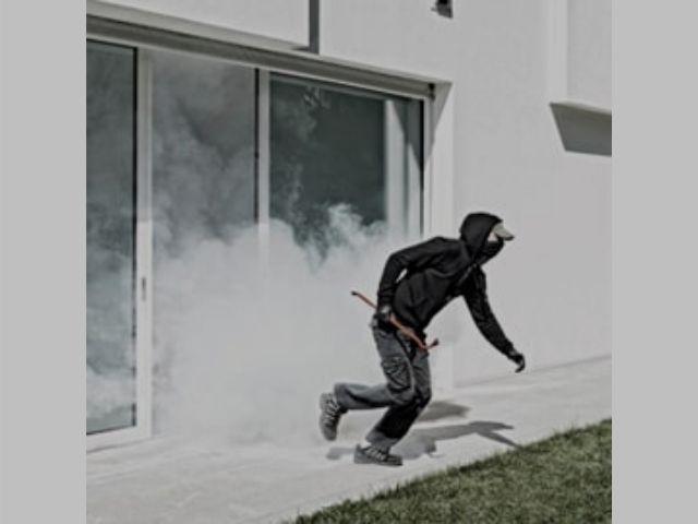 Seguridad niebla activa